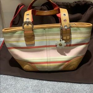 Coach mini tote purse